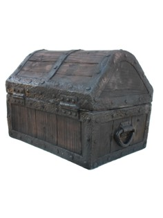 rubber treasure chest