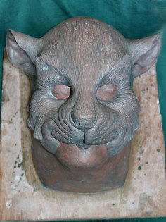Ratty of the Riverbank Mask Sculpt