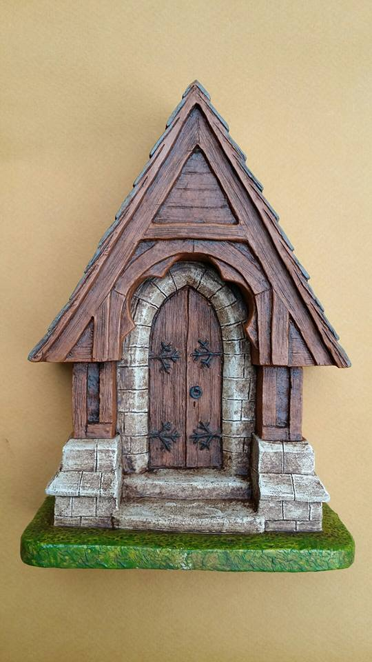 Fairy Door - Church Door Style center profile